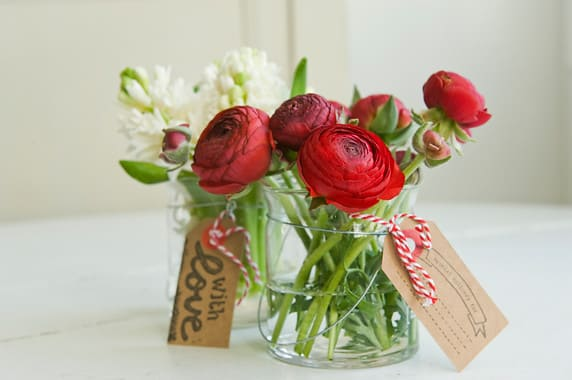 Red Ranunculus Buttercup Flowers